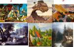 Какие виды пейзажа в живописи?