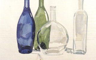 Пошаговые инструкции о том, как нарисовать вазу