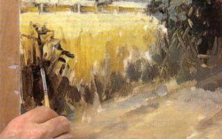 Как освоить живопись маслом?
