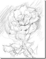 Как нарисовать розу масляными красками