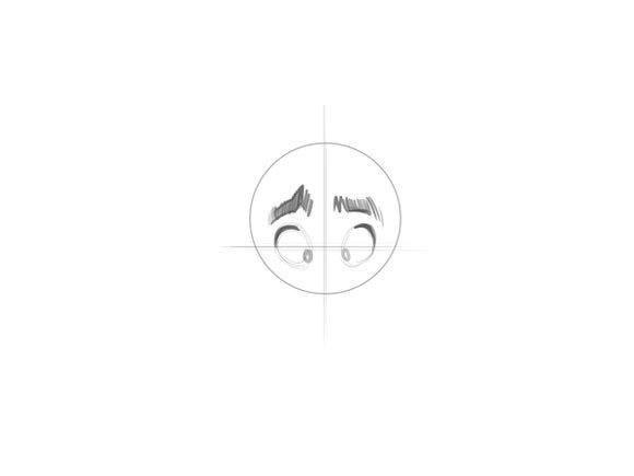 Как нарисовать персонажа поэтапно: веселого и грустного