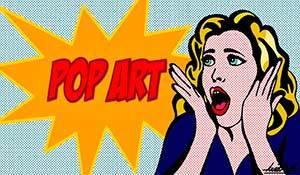 Поп арт стиль в живописи: история художники картины