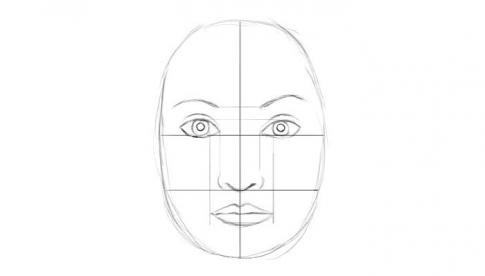 Как нарисовать лицо человека: карандашом поэтапно