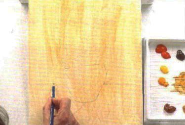 Ирисы: декоративная картина акрилом своими руками