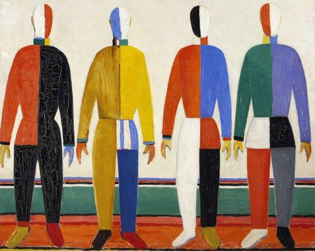 Супрематизм в живописи: основатель Малевич художники картины