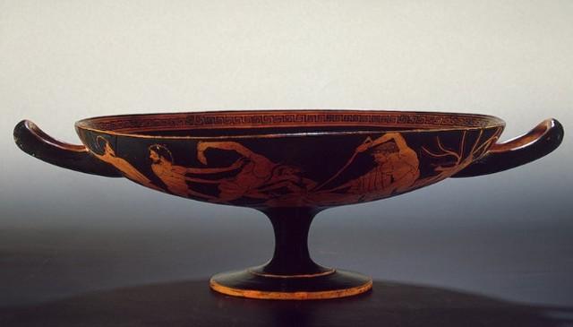 Греческая вазопись: краснофигурная чернофигурная античная