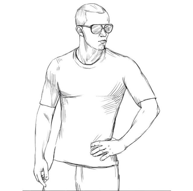 Как нарисовать человека карандашом: пропорции