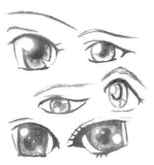 Как рисовать глаза человека: карандашом поэтапно