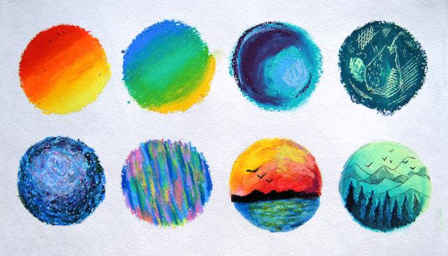 Масляная пастель в живописи: особенности техники