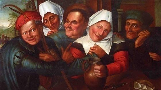Готический стиль в живописи: история художники картины