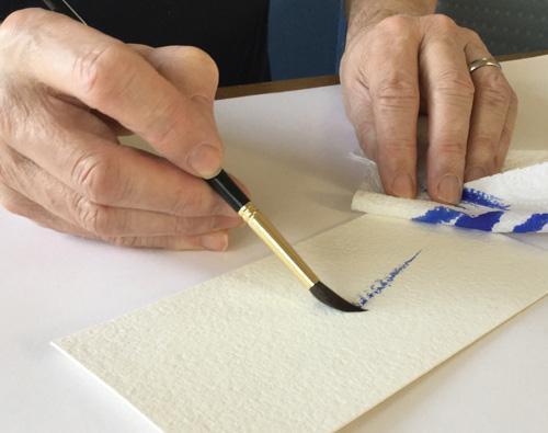 Техника сухая кисть в живописи: как рисовать сухой кистью