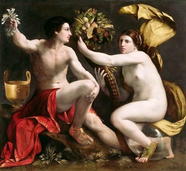 Аллегорический жанр в живописи: история атрибуты значение