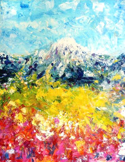 Техники живописи: маслом акрилом акварелью гуашью