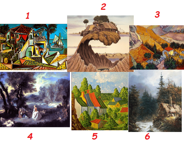 Виды пейзажа в живописи: пейзаж жанр изобразительного искусства