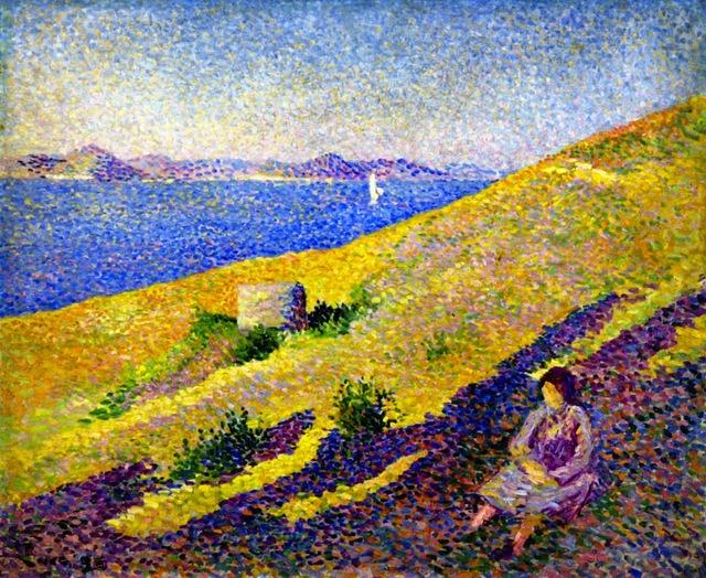 Пуантилизм в живописи: история стиля художники картины