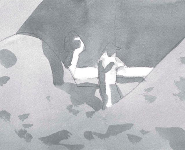 Гризайль: техника рисования маслом акварелью гуашью