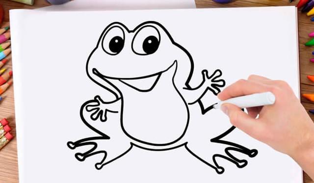 Как нарисовать лягушку: карандашом, фломастером или красками, поэтапная инструкция для начинающих