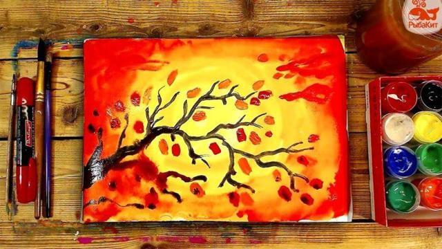 Как нарисовать осень: основные правила, интересные идеи, поэтапная инструкция для начинающих