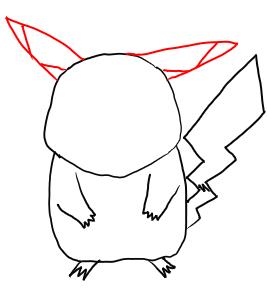 Как нарисовать Пикачу: карандашом, фломастером или красками, поэтапная инструкция для начинающих
