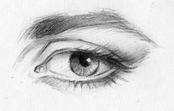 Как нарисовать глаза: карандашом, фломастером или красками, поэтапная инструкция для начинающих